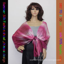 Fashion silk Acrylic shawl HT8041-1