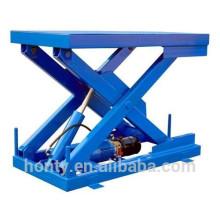 Plataforma de carro con mesa elevadora de tijera hidráulica eléctrica de 0.8 t 3.5 m con CE