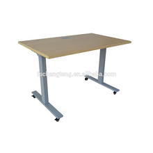Customized Desgin Electric Height Adjustable Standing Desk With Wheels
