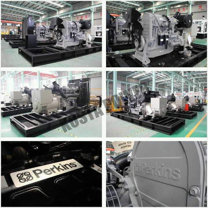 750KVA Doosan Engine Powerful Diesel Genset