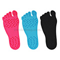 wholesale swimming pool nakefit stick on soles foot pads beach shoes insoles waterproof feet stick