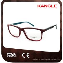 Forme unisexe hot seller acétate optique montures et lunettes lunettes