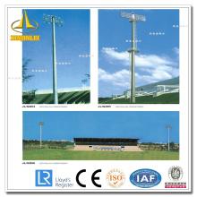 Conic HDG High Mast Steel Post