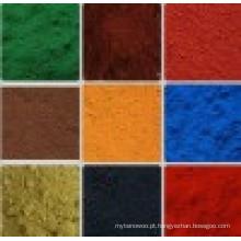 Vermelho Amarelo Verde Cor óxido de ferro