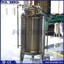 polissage de réservoir de stockage de bière sanitaire