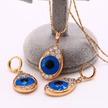 62210-Xuping Fancy Style Design para mujer conjunto de joyas con 18 K chapado en oro