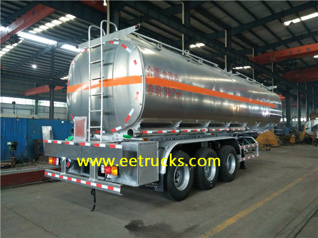 40 CBM Edible Oil Tank Trailers