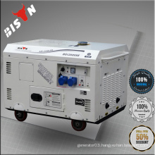 BISON CHINA TaiZhou OHV Electric Start Portable Silent Diesel Generator 8kv
