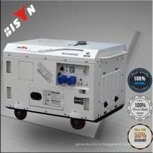 BISON CHINA TaiZhou OHV Электрический старт Портативный бесшумный дизельный генератор 8kv