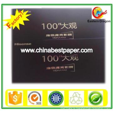 Uncoated 150g Black Cardboard Paper