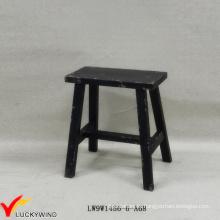 Taburete de banco de estilo chino Hecho a mano taburete de madera antigua rectangular