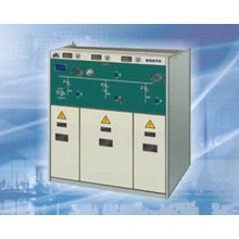33kV Interrupteur isolé à gaz C-GIS intérieur RMU Ring Unité principale