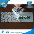 Garrafa de fita de vedação vazia, etiqueta adesiva anti falso aberto para embalagem de papel