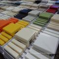 Kingkonree acrylic solid surface sheets for Shower Back Wall