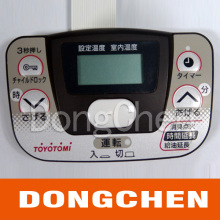 Embossing Button Silk Screen Printed Membrane Switch Panel
