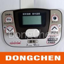 Bouton de gaufrage Écran de soie Panneau de commutation à membrane imprimée