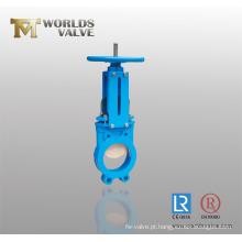 Válvula de porta bidirecional da faca de Wcb