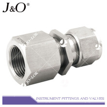 Stainless Steel NPT Bulkhead Connector Fitting Tube Fitting Pipe Fitting