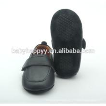Venda por atacado novo design preto sapatos berçário berçário sapatos