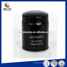 Haute qualité pour les filtres à huile Toyota