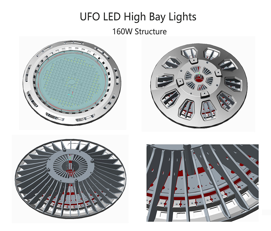 Lights of UFO led High Bay Lighting