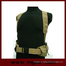 Militärische taktische Molle Panel Plattform Taille Gürtel Hosenträger