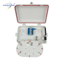 FTTH04C 1 ports d'entrée 4 ports de sortie ingénieur en plastique 4 Plc mural boîte de distribution de fibre optique