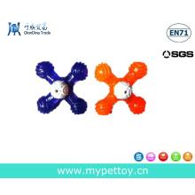 2015 Neuer Gummi mit TPR Hundekoch Spielzeug