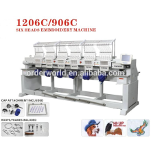 maya embroidery machine 6 head Wonyo embroidery machine WY1206C