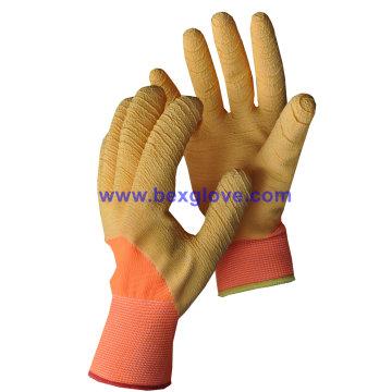 Color Latex Work Glove