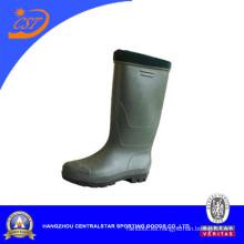 Botas de agua de acero de PVC