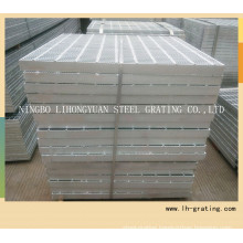 Hot Galvanizing Steel Bar Grating with Serrated Type