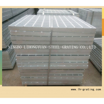 Hot DIP Galvanized Steel Grating with Serrated Type