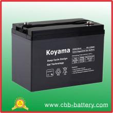 Batterie d'accumulateurs solaire d'énergie solaire de gel de longue durée 220ah 6V