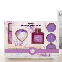 Coffret Cadeau Bougie Diffuseur d'Argile Parfumée