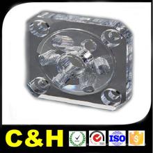 CNC Fresagem Parte Usinagem Parte por Material Acrílico / ABS / PTFE / Nylon / Borracha