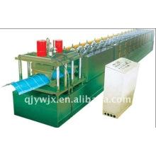 Automatische Farbstahl Corrugated Ridge Cap Roll Formmaschine