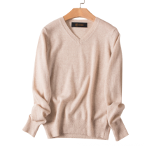 17PKCS473 2017 knit wool cashmere knitted lady sweater