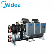 Midea brand industri chiller 900-1300kw high efficiency inverter motor commercial industrial water cooling cold chiller