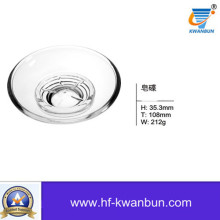 Round Dishes Clear Glass Plate Tableware Kb-Hn0391