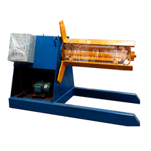 hebo xinnuo decoiler para equipamentos de coberturas metálicas