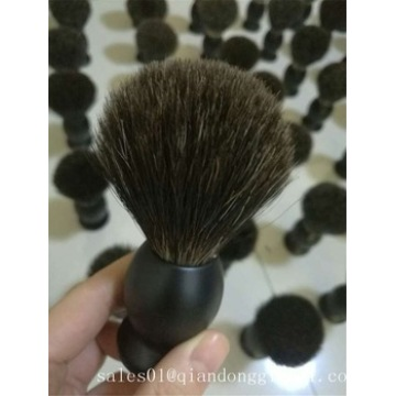 Customer Logo Black Synthetic Hair Shaving Brush