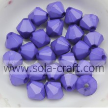 Short Lead Time for Acrylic Bicone Beads Colorful Faceted Diamond Bicone Opaque Acrylic Beads supply to Hungary Factories