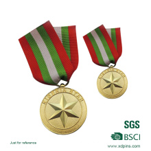 Em relevo Solider Honor Emblem Medal for Souvenir