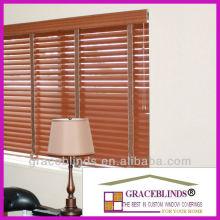 Decorative cloth tapes, cord tilt left, lift cords right custom window blinds