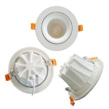 Nuevo diseño 7W / 10W / 15W ajustable COB Down Light LED Downlight