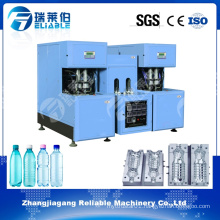 Small Semi-Auto Plastic Blow Molding / Pet Bottle Making Machine