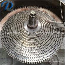Multi a vu la lame circulaire multi de scie de diamant d'outils de coupe pour la pierre de granit