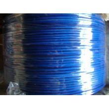 Fil coloré PVC / fer enduit plastique