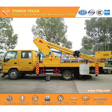 ISUZU straight arm aerial work truck